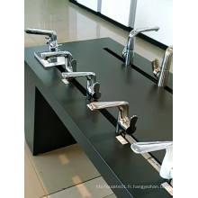 Robinet de douche en cuivre chrome, vente chaude, robinets de salle de bains