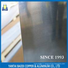 Feuille d'aluminium (3000series) Mn Alliage, Anti-rouille, non-thermorésistant, Plasticité, Résistant à la corrosion, Bonne tenue de soudure