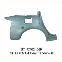 Rear Fenders for Citroen C4