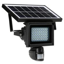 Caméra de projecteur de mouvement PIR à énergie solaire étanche à l'eau avec enregistrement vidéo