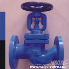 Válvula de globo de bolas fundida y forjada de DIN (J41)