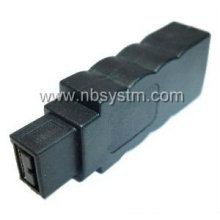 new design Firewire 1394 6P female to 9P male adapter