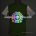 Rainbow reflective screen printing reflective Heat vinyl