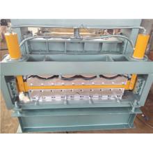 Máquina perfiladora de paneles de techo automática de acero de color