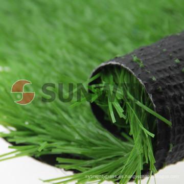 Césped sintético profesional sin plomo de la hierba del chino para el fútbol