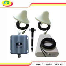 Conjunto completo Em-construção Celular Dual banda GSM / 3G AWS 4G LTE 850MHz 1700MHz 65db reforço de sinal de telefone celular