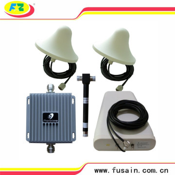 Conjunto Completo no Edifício Celular Dual Band GSM / 3G Aws 4G Lte 850 MHz 1700 MHz 65dB Reforço de Sinal de Telefone Celular