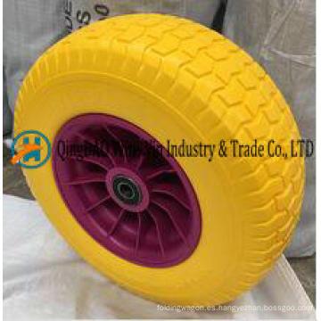 16X6.50-8 neumáticos sin cámara de la espuma de la PU para la cortadora de césped