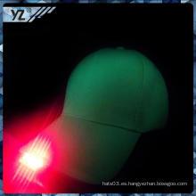 Nuevos productos China custom custom light LED sombrero Profesional sombrero personalizado