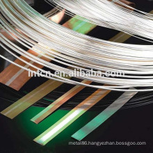 Electric contact material silver nickel wires