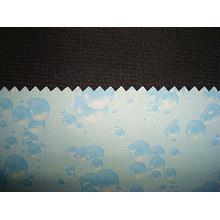 Tissu en polyester avec tissu imprimé TPU Lamination