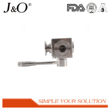Válvula de esfera de aço inoxidável sanitária alta da braçadeira 3 do comentário