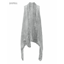 Crinkle Fashion Long Women Jacket