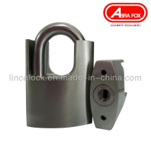 Stainless Steel Padlock with Shrouded Shackle (201)