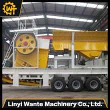 Jaw crusher price high efficiency portable type mobile jaw crusher for stone quarry
