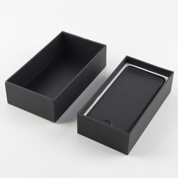 Högkvalitativ Black Paper Mobile Packaging Box