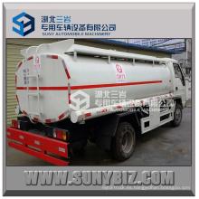 Camión cisterna de aceite de Forland Rhd 5000L con desensilador de aceite