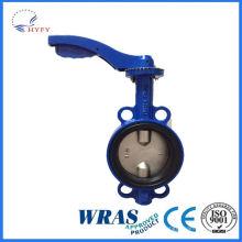Globale market hot selling wafer centerline butterfly valve