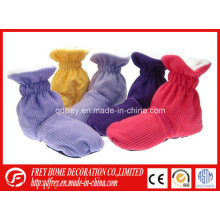 Lavanda microondas Bolsa de Trigo Hot Boot / pies calentador
