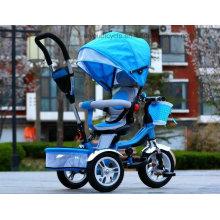 Hochwertiges drehendes Dreirad-Laufkatze-Baby-Säuglings-Fahrrad