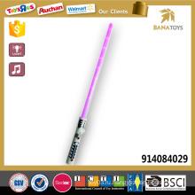 Электрическая игрушка космического лазерного меча со звуком