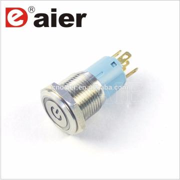 Daier LAS3-16F-11EP 16 milímetros de energia Mark LED botão interruptor
