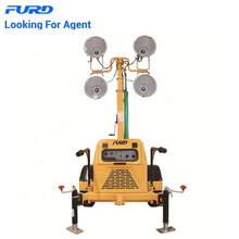 Mining Diesel Light Tower with 4x400watts Floodlight