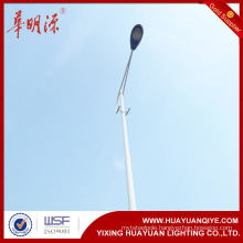 single arm galvanized road street lamp poles