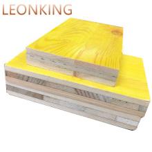 500mmx3000mm 27mm 3 Ply Yellow Shuttering Panel / Doka Like Formwork Panels Concrete Formwork Courtyard LEONKING Phenolic WBP