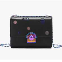 Hollow out and laser decorative cross body bag
