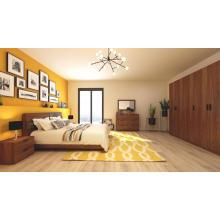 Dark Walnut Wooden Adult Bedroom Furniutre Set