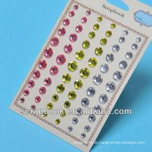 Bling selbstklebende Kristall Sticker