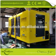 100% novos 300Kva conjuntos de gerador diesel silencioso, alimentado por CUMMINS motor NTAA855-G7