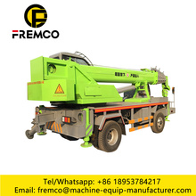 Truck Crane 8 Ton With Winch Lifting