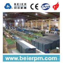 Línea plástica de la máquina de la producción de la protuberancia del tubo / del tubo del PVC 315-630m m