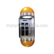 MRL Capsule Observation Passenger Elevator