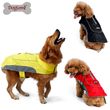 New Dog Jacket Pet Winter Warm Large Dog Coat with Harness Hole