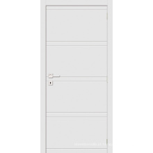 Porta de madeira interna branca