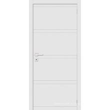 Внутренний Белый Заподлицо Деревянной Двери