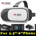 2016 Best Factory Pricing Neue 3D Vr Box mit Remote Gaming Griff Vr Box 2.0 OEM Logo Vr Box
