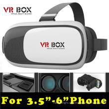 "Head Mount Plastic Vr Box 2.0 Versión Vr Gafas de realidad virtual Google Cardboard 3D Movie Game para 3.5 ""- 6.0"""