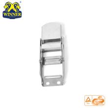 Hebillas de correas blancas de zinc Overcenter Hebilla para cinturón de amarre