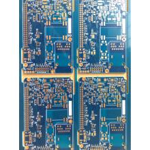 6 layer(TG70) 1.6mm blue solder ENIG PCB