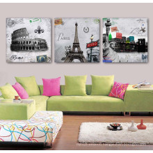 3 Panel Wall Art Oil Painting Abstract Painting Home Decoration Canvas Prints Pictures for Living Room Framed Art Mc-264