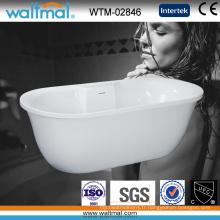 Baignoire autoportante de haute qualité unique conçue (WTM-02846)