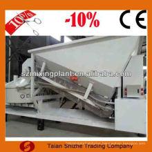 Hot sale 10m3/h mini mobile concrete mixing plant price