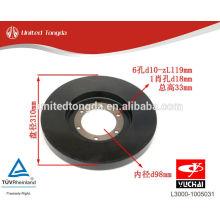 YUCHAI engine YC6L silicone oil damper L3000-1005031
