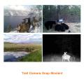 Cámara de exploración del rastro al aire libre de la exploración del movimiento de la cámara del rastro que explora la cámara