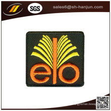 Bom preço design personalizado vestuário tecido bordado patch