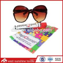 Gafas de sol lente de limpieza de tela de microfibra